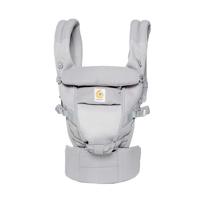 Mochila Ergobaby Adapt Cool Air - Gris -