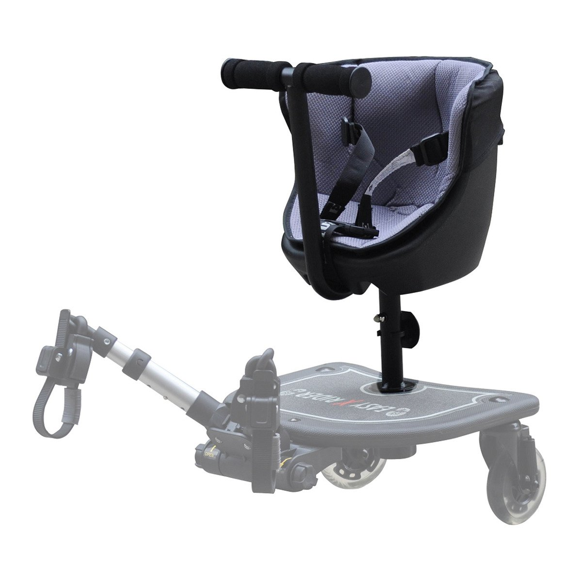 Asiento Para Patinete Easy X Rider para carro - Negro -
