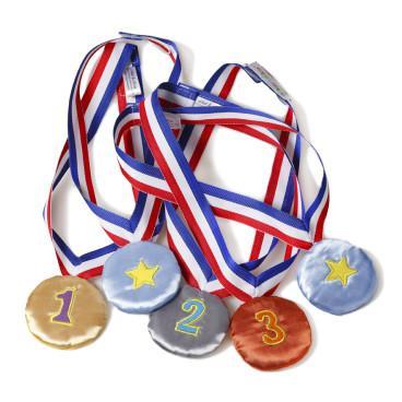 Medallas De Tela