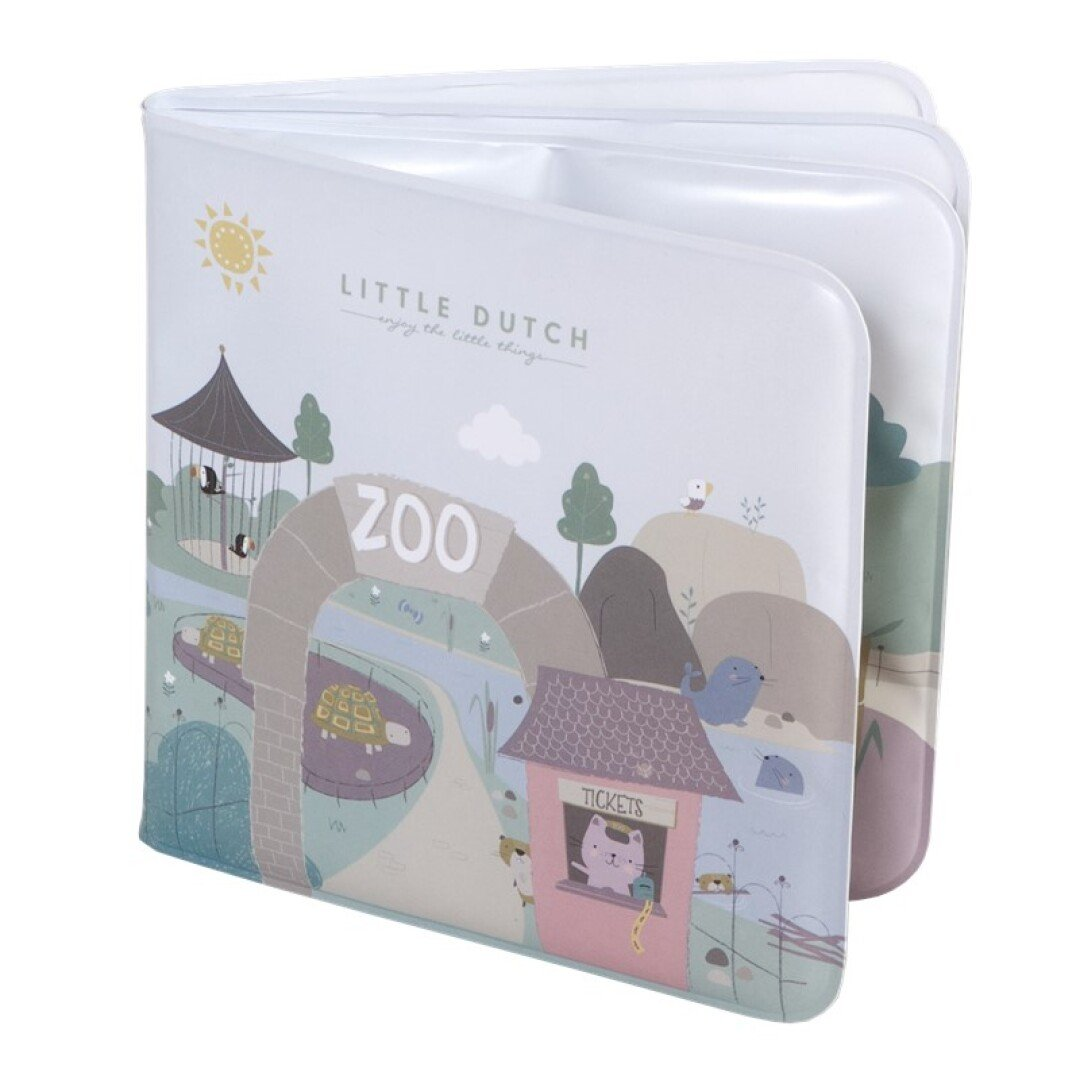 Libro Para El Baño Zoo Little Dutch