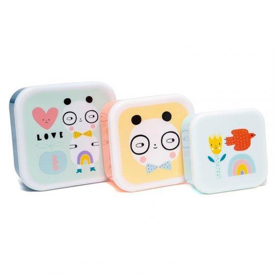 3 Cajitas para almuerzo -varios modelos-