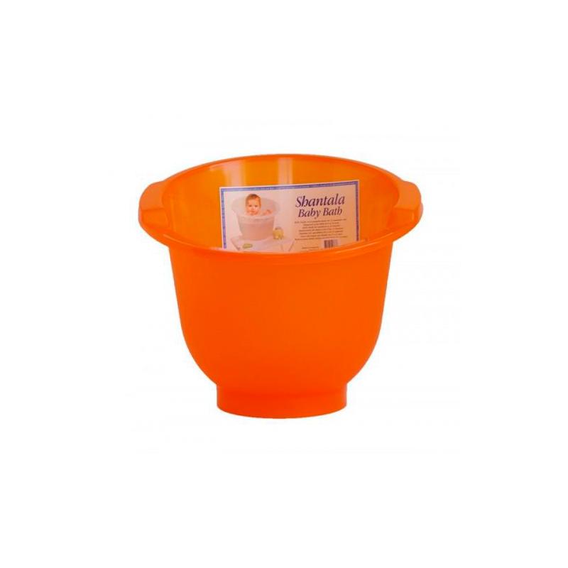 Bañera anticólico Shantala Naranja
