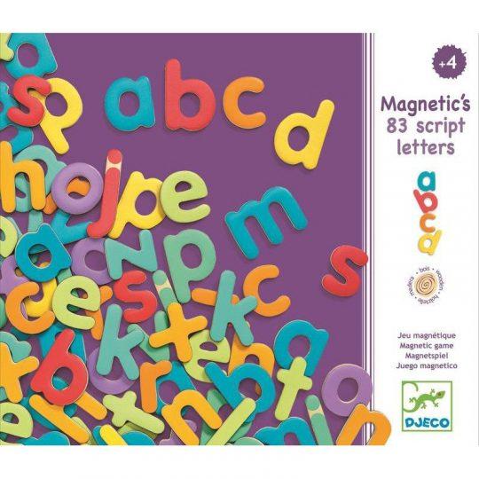 Magnéticos 83 Letras pequeñas