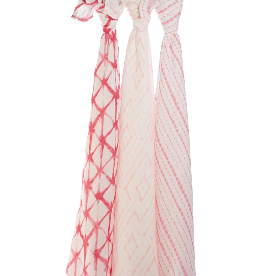 Muselina Aden Anais Berry Shibori 120x120cm
