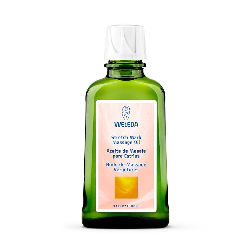 Aceite para masaje antiestrías