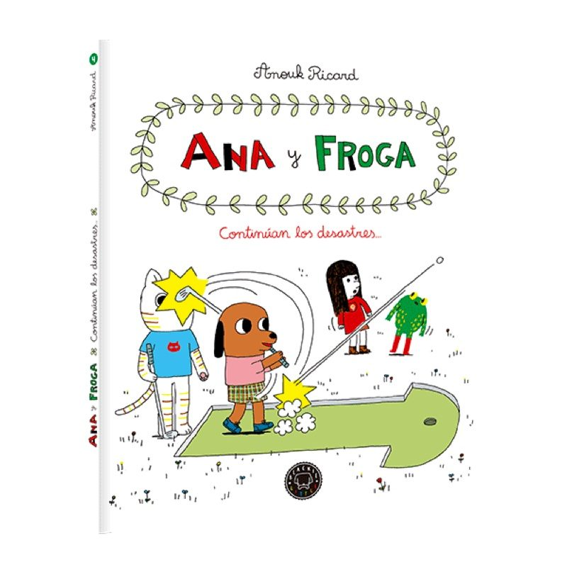 Ana y Froga 4: Continúan los desastres, Blackie Books