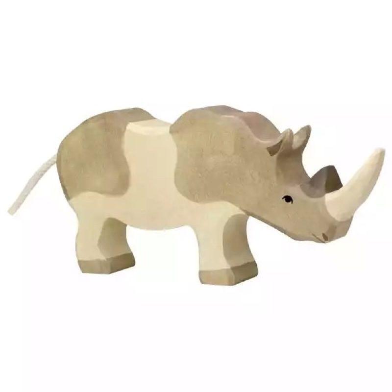 Animales-madera-rinoceronte-holztiger-monetes1