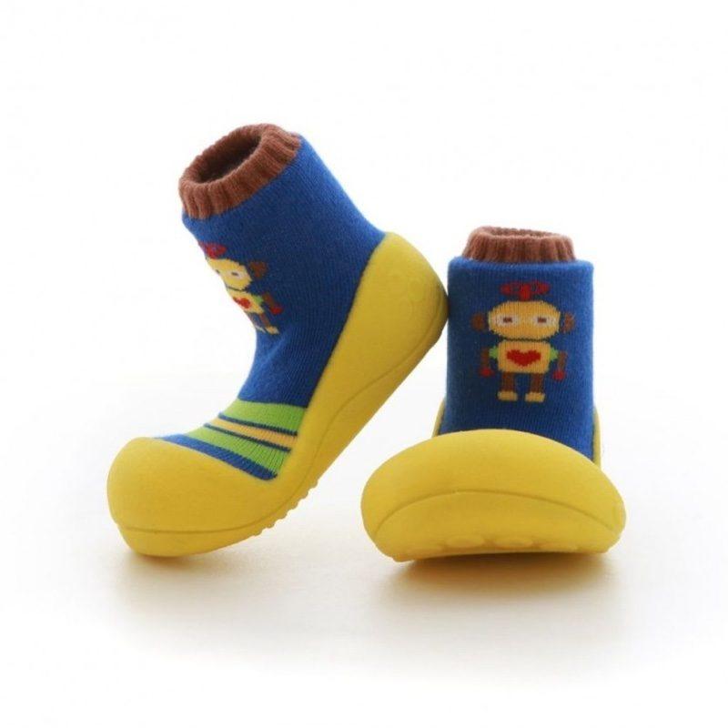 Zapatos Attipas Robot amarillo