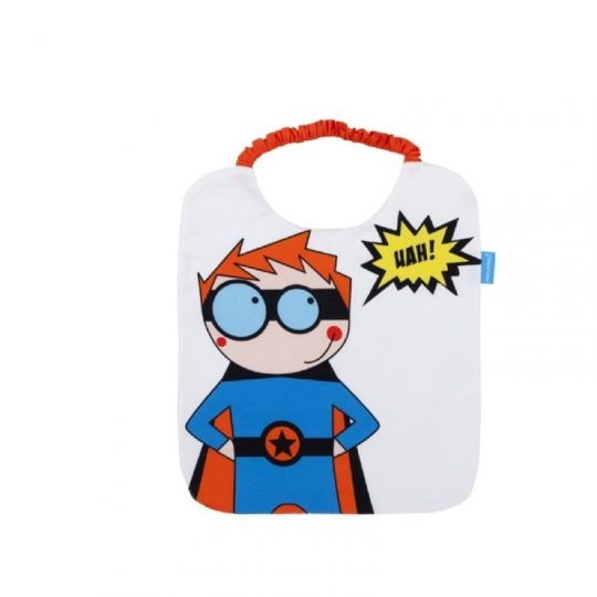Babero Rizo Plastificado - Superhéroe -