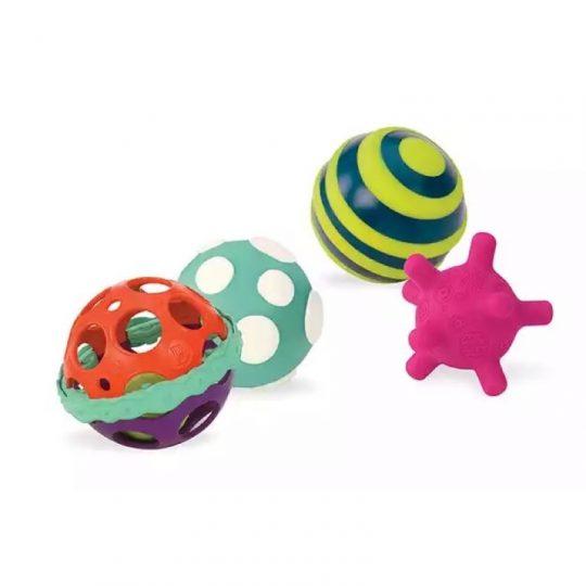 Conjunto de bolas con textura Ball-A-Balloos