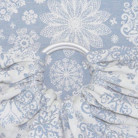 Bandolera Fidella Iced Butterfly - Ligth Blue -