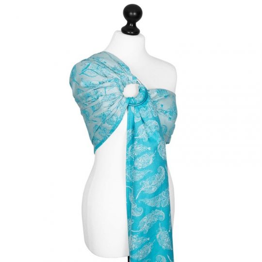 Bandolera Fidella Feather Rain - Agua/Azul -
