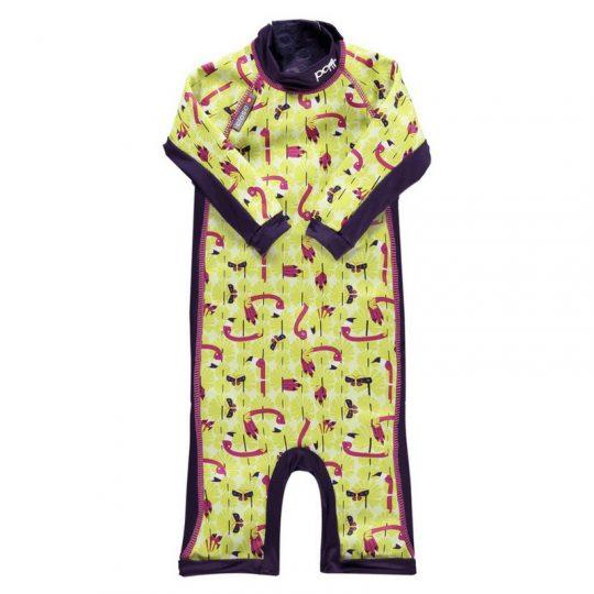 Bañador Shortie con protección UPF50+ - Flamingo -