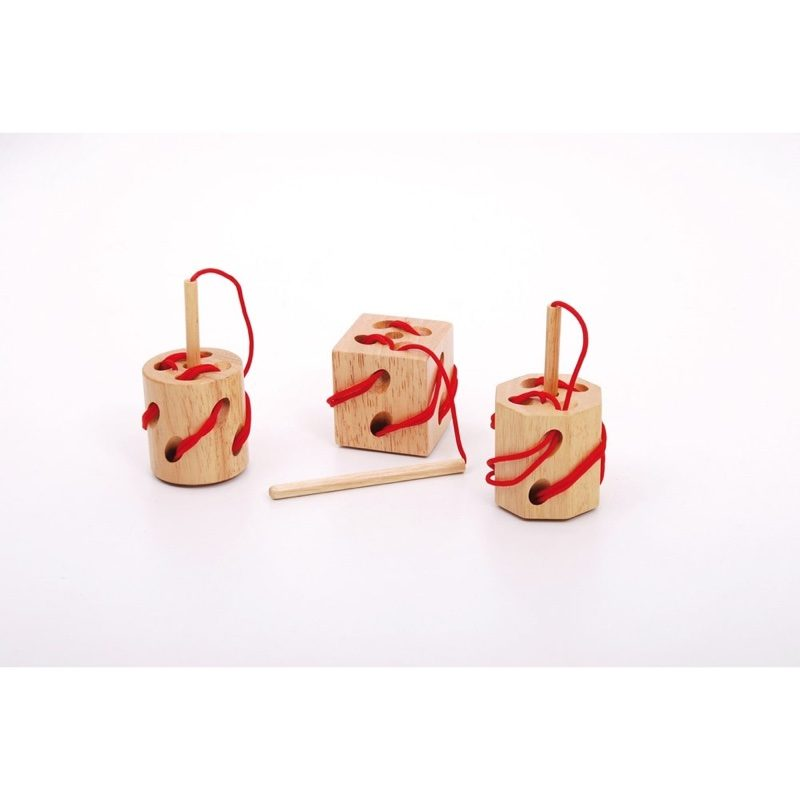 Bloque de costura de madera, TickIt