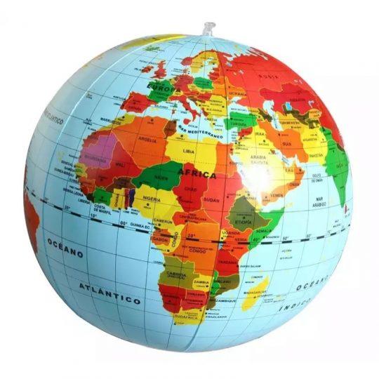 Bola del Mundo Hinchable 50cm