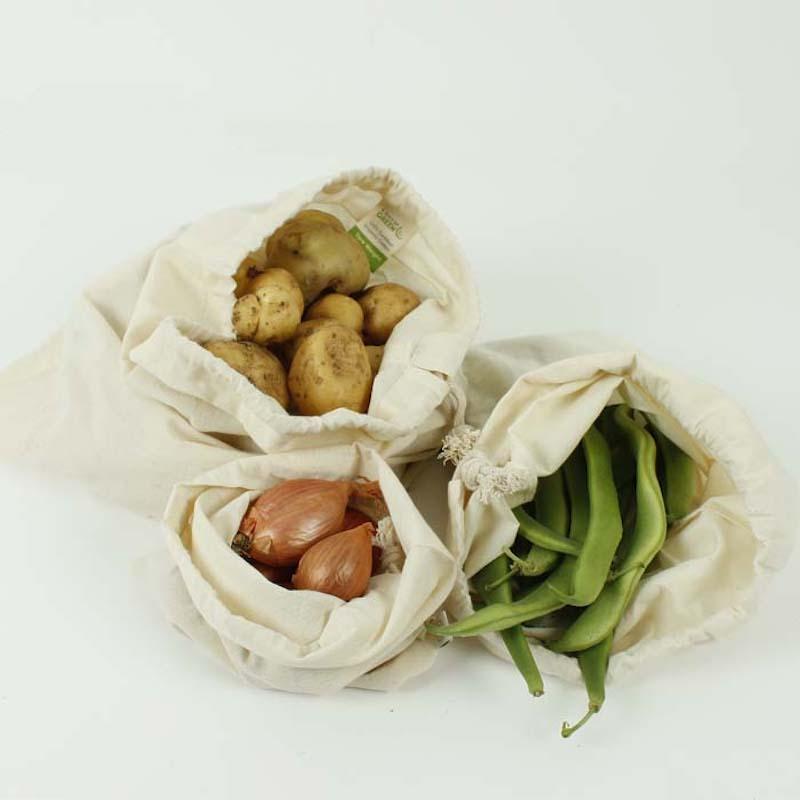 Bolsa algodón reutilizable - A slice of green