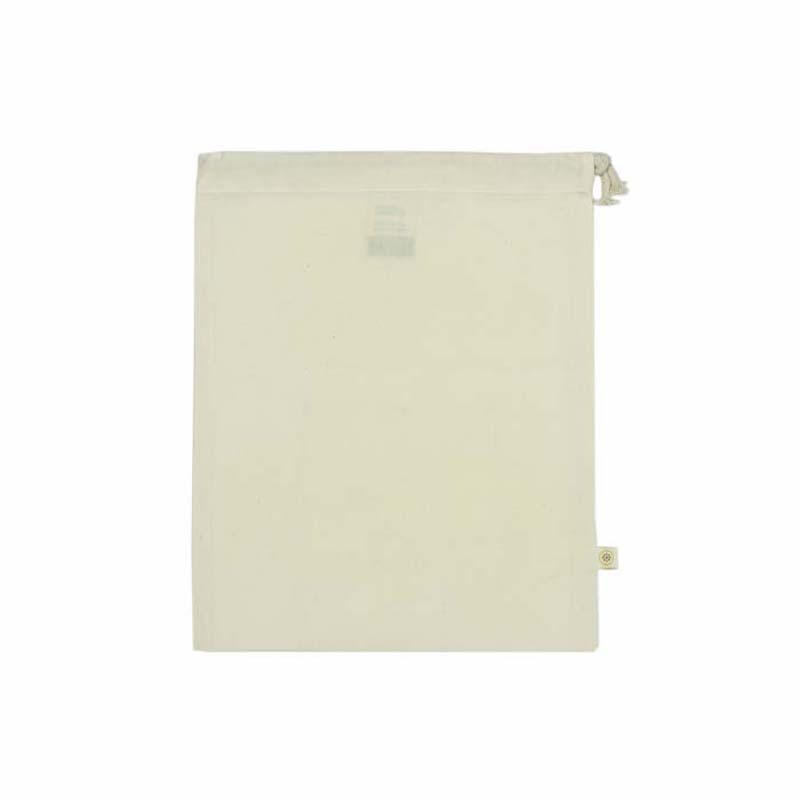 Bolsa algodón reutilizable mediana - A slice of green