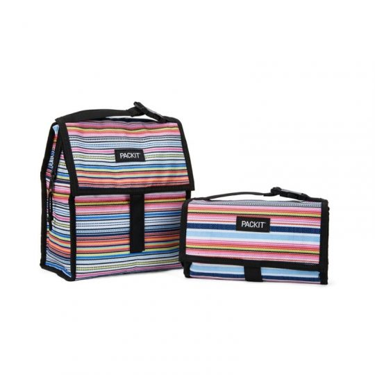 Bolsa portalimentos congelable Lunch Bag Blanket Stripe 4'4L