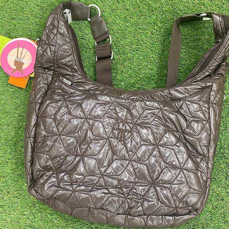 Bolso carrito Lässig Glam Banana Bag - Chocolate -
