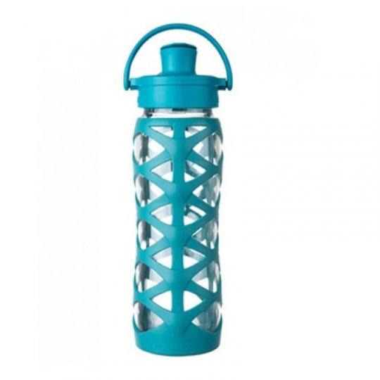 Botella 650 ml Lifefactory Active Cap Ultramarine