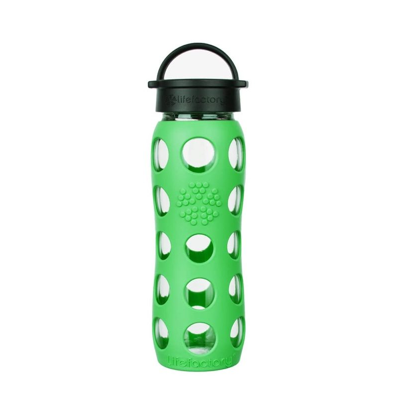 Botella de cristal Lifefactory Classic 650 ml Moss Green