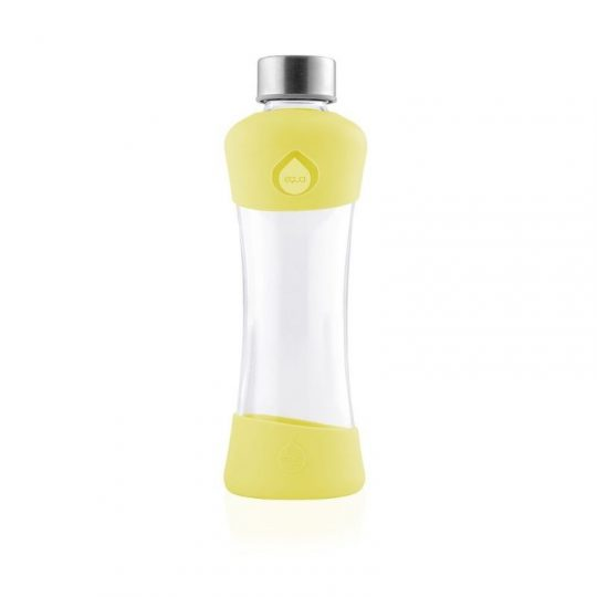 Botella cristal Equa Active - Amarillo - 550 ml