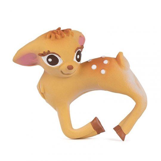 Brazalete-mordedor de caucho - Olive the deer -