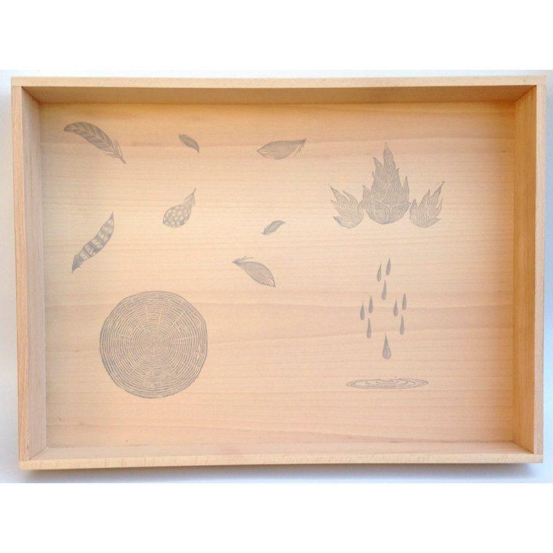 Caja de juego de madera, Grapat