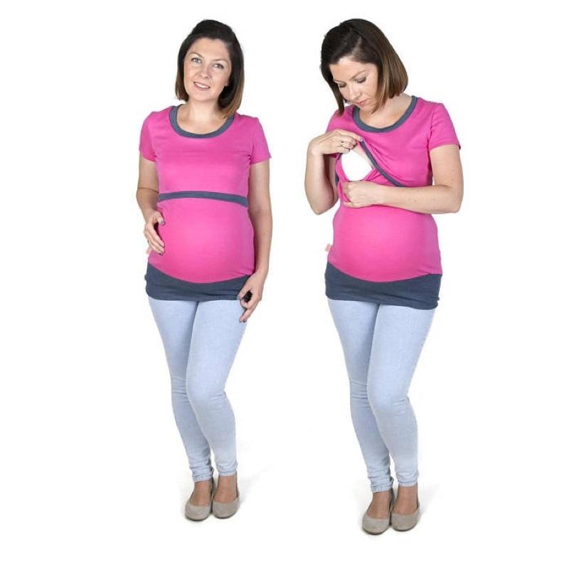 Camiseta-embarazo-lactancia-manga-corta-alex-rosa-grafito-fun2bemum-monetes4