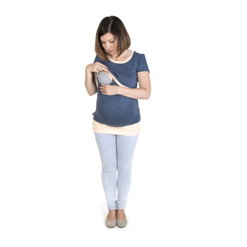 Camiseta-embarazo-lactancia-manga-corta-jeans-melocoton-fun2bemum-monetes3