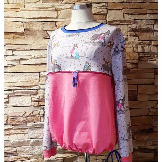 Camiseta Lactancia L/XL -Rosa-