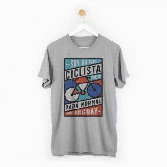 Camiseta 'Papá ciclista'
