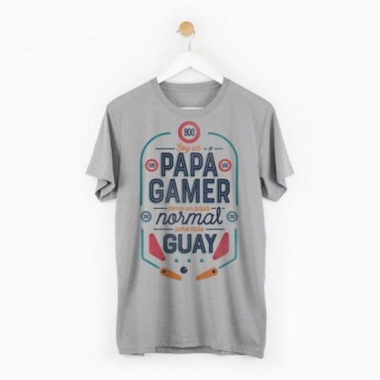 Camiseta 'Papá gamer'