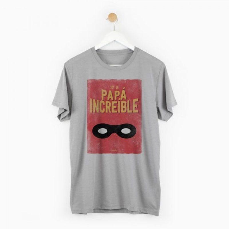 Camiseta Papá Increíble, para el día del padre