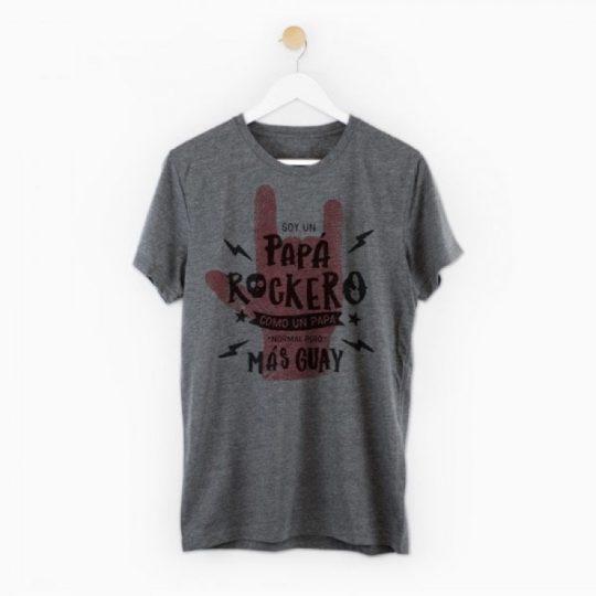 Camiseta 'Papá rockero'