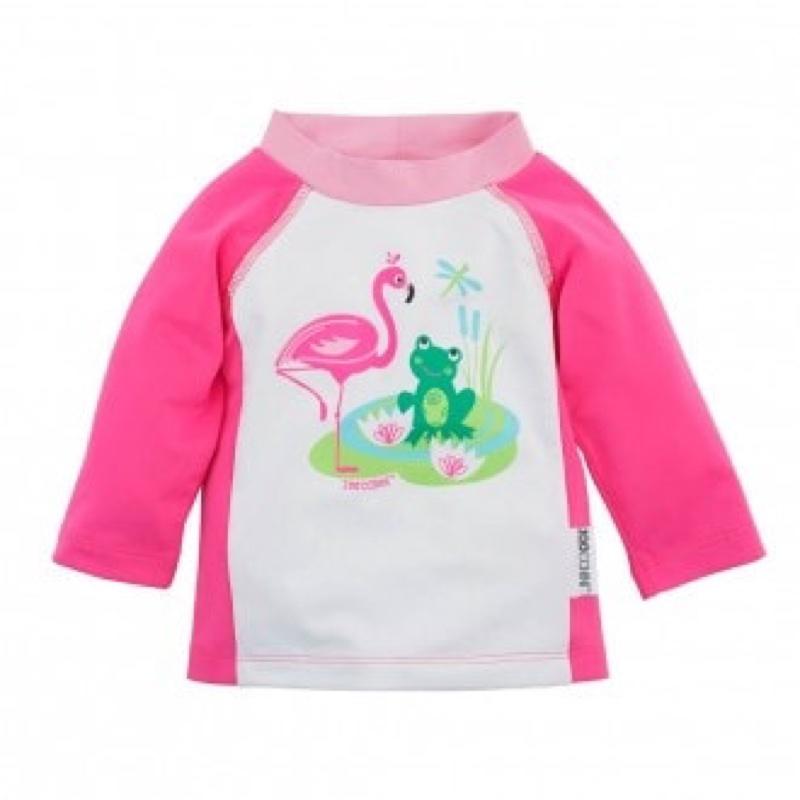 Camiseta-proteccion-solar-50-rosa-zoocchini-monetes1