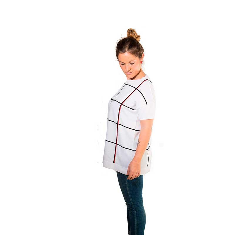Camiseta premamá y lactancia - Square Color -