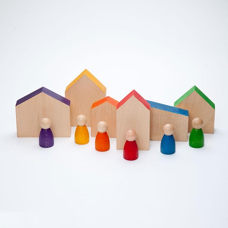 Conjunto Casas y Nins