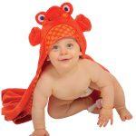 Toalla para bebé Zoocchini, cangrejo