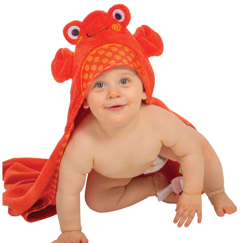 Toalla de bebé - Charlie el Cangrejo -