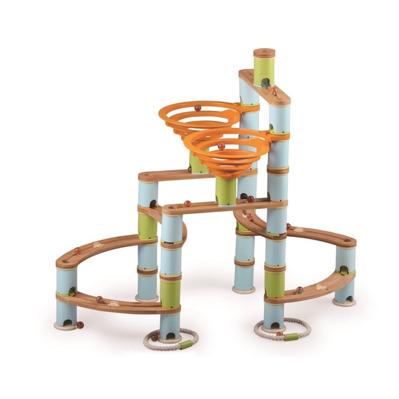 Circuito de canicas Kit Jumbo - Bamboo planet