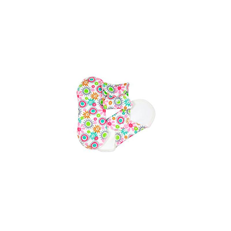 Compresas de tela Salva Slips (Pack 3) - Flores -