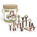 Set de 36 piezas de construcción Branch Blocks, Guidecraft
