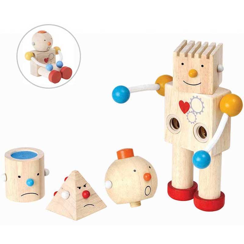 Construye a tu robot Plan Toys