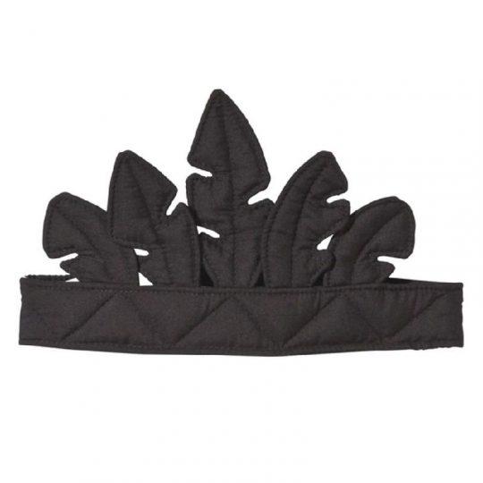 Corona de Plumas negra