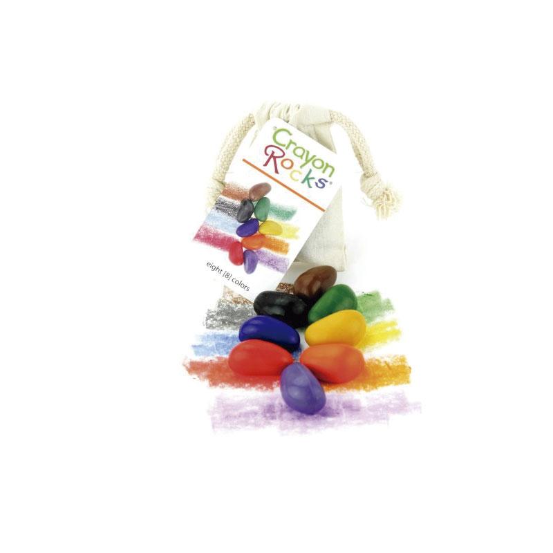 Bolsa de algodón con 8 Crayon Rocks