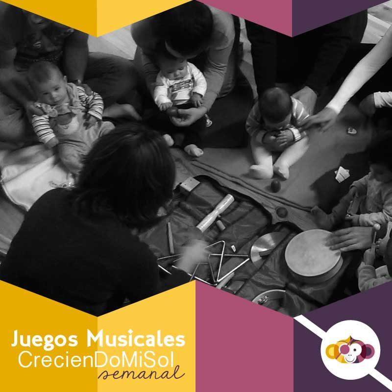 Juegos Musicales. CrecienDoMiSol - Sesión Semanal