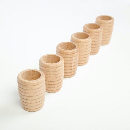 Cubilete nido de abeja (individual) - Cesto de los tesoros -