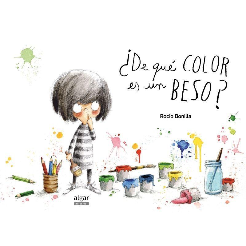 De qué color es un beso, Editorial Algar