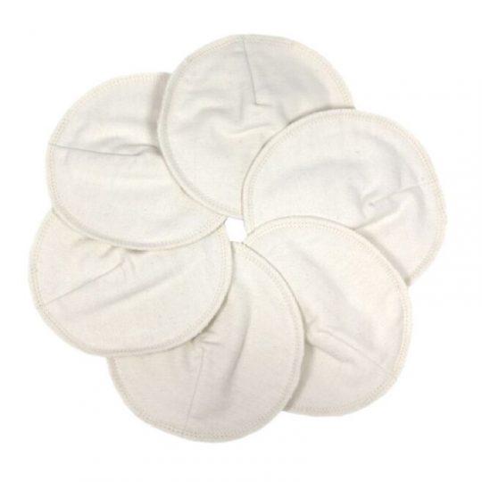 Discos de lactancia Algodón Orgánico Natural